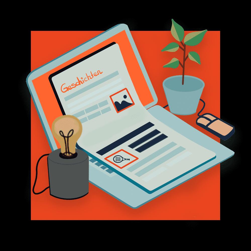 Content Marketing ist unsere Leidenschaft: Deswegen schreiben wir Geschichten für Menschen statt für Maschinen - und erhöhen damit Ihre Sichtbarkeit.