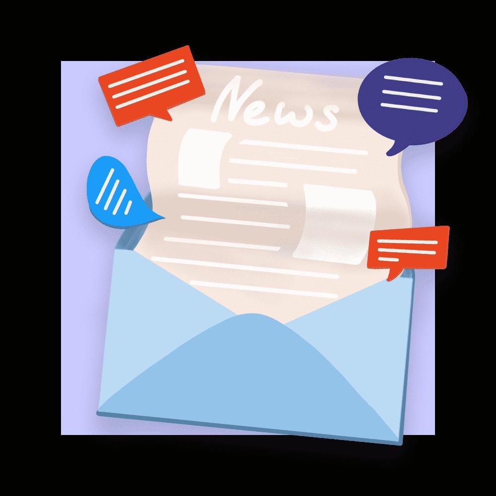 Wir entwickeln und schreiben Newsletter, die die Menschen öffnen - und erhöhen damit die Reichweite unserer Kunden